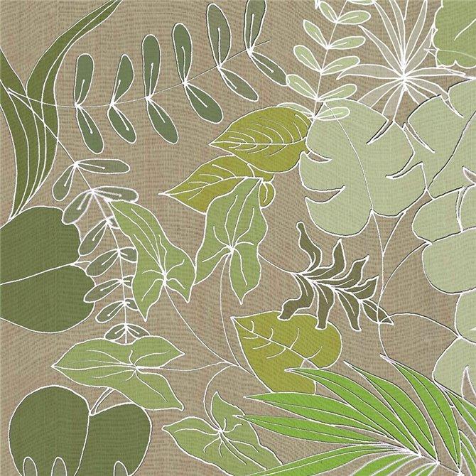 Linen Leaves 1