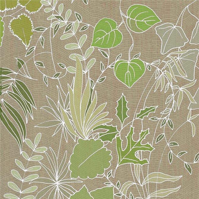 Linen Leaves 2