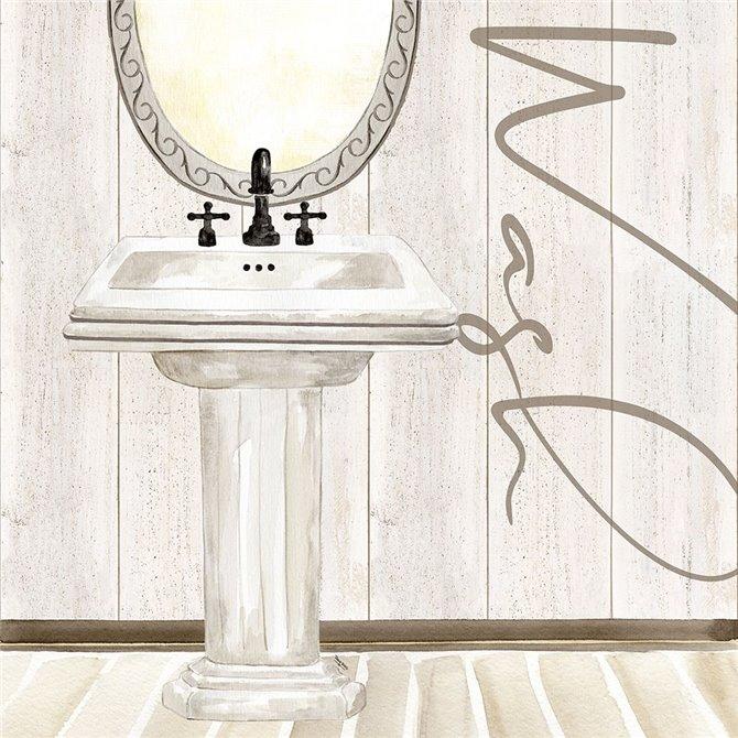 Rustic Bath I Wash