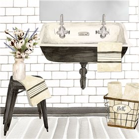 Farmhouse Bath II Sink