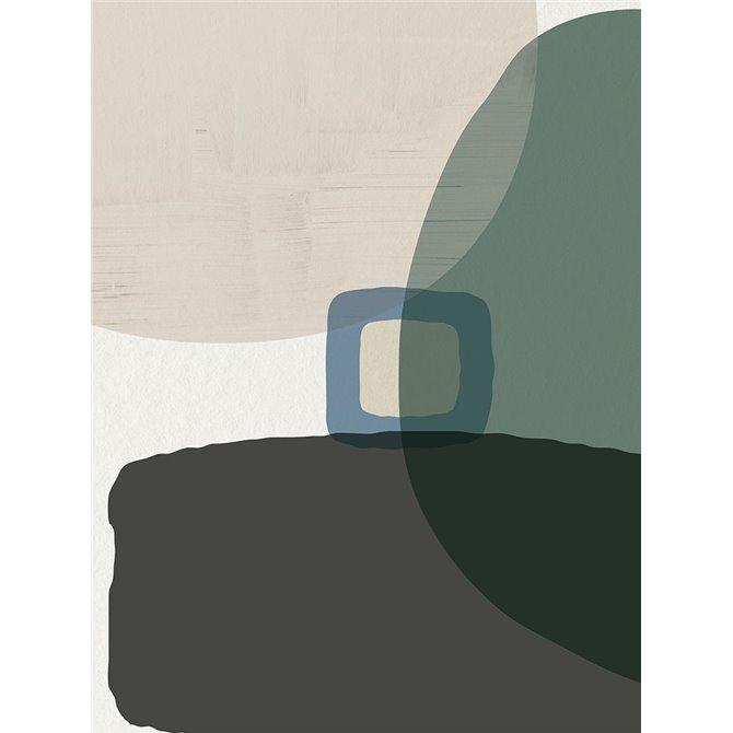 Mid Century Abstract 1