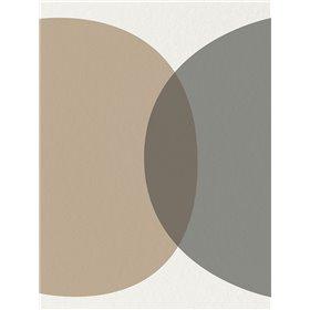 Mid Century Abstract Circle 1