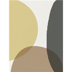 Mid Century Abstract Circle 4