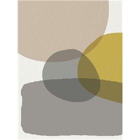 Mid Century Abstract Circle 6