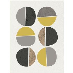 Mid Century Abstract Circle 10