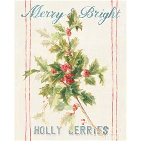 Floursack Holiday Bright I