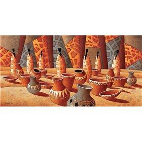 Le marche aux poteries