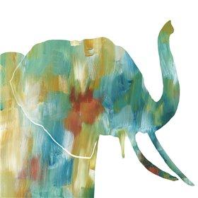Painterly Elephant