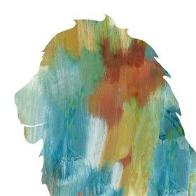 Painterly Lion