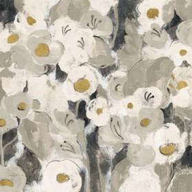 Velvety Florals Neutral III