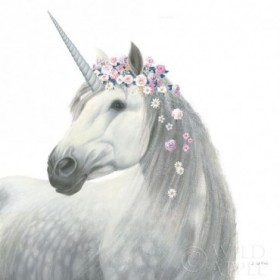 Spirit Unicorn II Sq Enchanted
