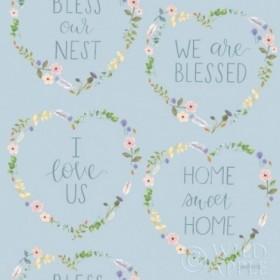 Spring Sentiments Pattern VIIA