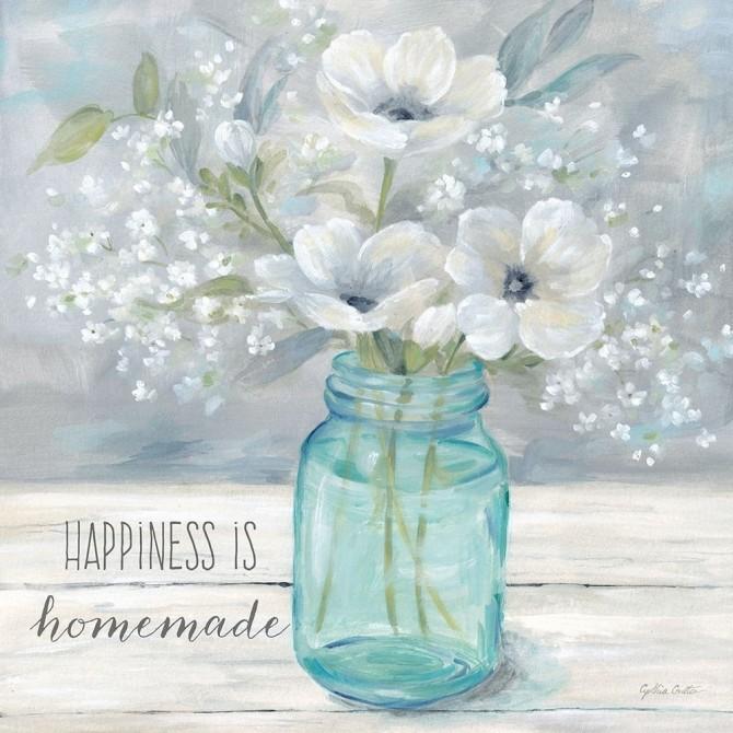 Vintage Jar Bouquet Sentiment I