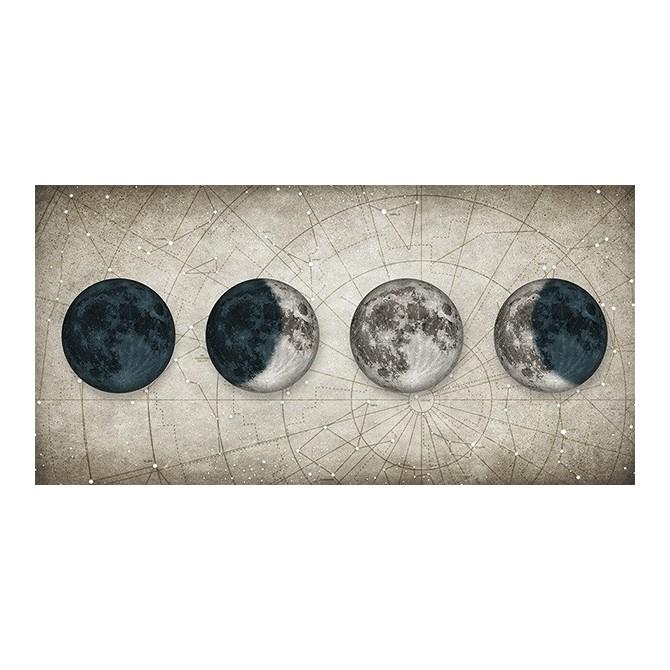 MFZ-0029 Cuadro Fases de la Luna BLANCO