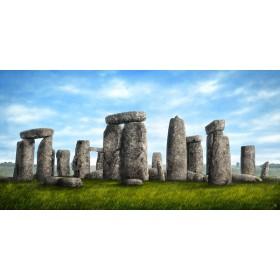 MFZ-0013 Cuadro Ilustración Stonehenge DÍA