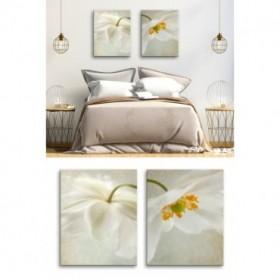 J2-M05-Flores blancas- Spring Bonnet I- 2 unidades