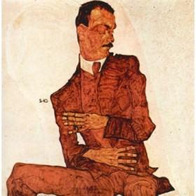 Portrait of Arthur Rossler by Schiele