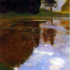 Lake in front of the Castle by Klimt