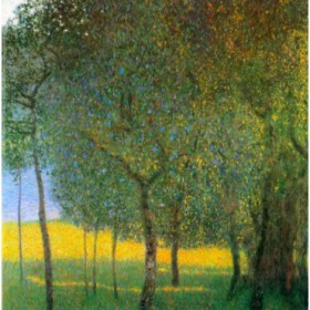Fruit Trees by Klimt
