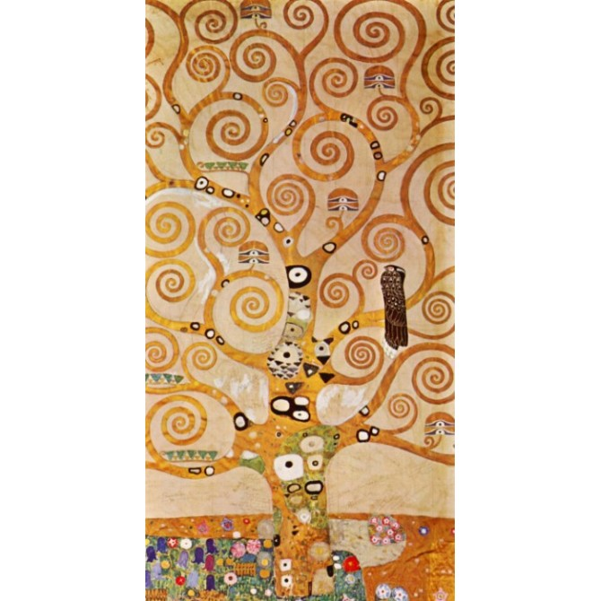 Frieze II by Klimt