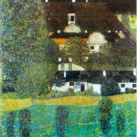 Castle Chamber at Attersee II by Klimt