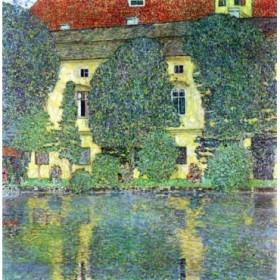 Castle at the Attersee by Klimt