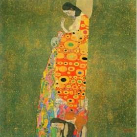 Abandoned Hope by Klimt