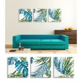 J3-M00-Juego de 3 Lienzos - Palm Leaves