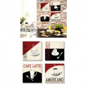 J2J2-M00-Juego de 4 lienzos cuadrados- Cafe Moderne