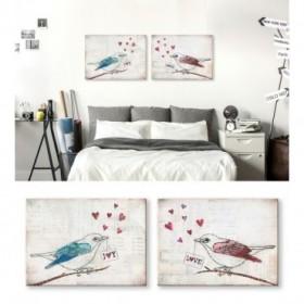 J2-M02-Juego de 2 lienzos- Love Birds