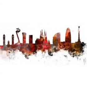 BCN Aqua 01- Skyline Barcelona