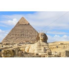 Esfinge y piramides de Giza en Egipto 117007835