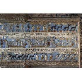 Jeroglífico en antiguo templo egicpio- 106749770