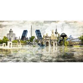 Cuadro GR2-Collage Madrid 01