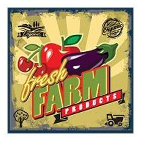 52122742-fresh farm sign. 7 tamaños disponibles