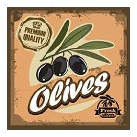 52020856-vintage olive sign. 7 tamaños disponibles