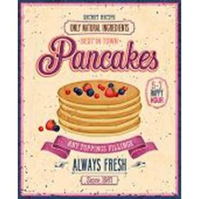 48889706-Vintage Pancakes Poster. 7 tamaños disponibles