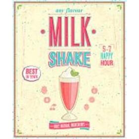 48889718-Vintage MilkShake Poster. 7 tamaños disponibles