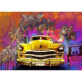 BRS-012-Cuadro Coche Pop Art - USA