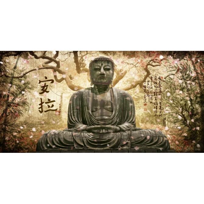 JF-GR2-0001 Cuadro Buda en el Árbol