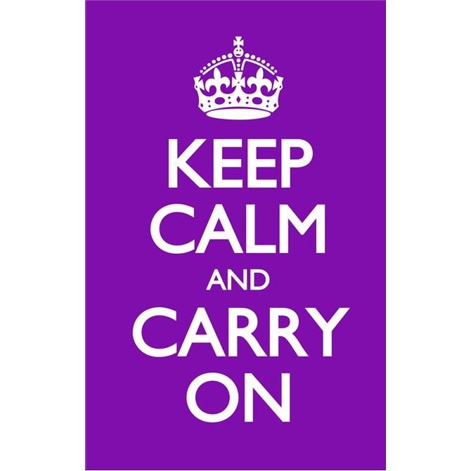 Keep Calm and Carry On Lila.