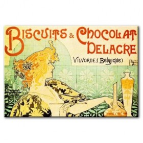 VANP2009 Cuadro Biscuits and Chocolat Delacre