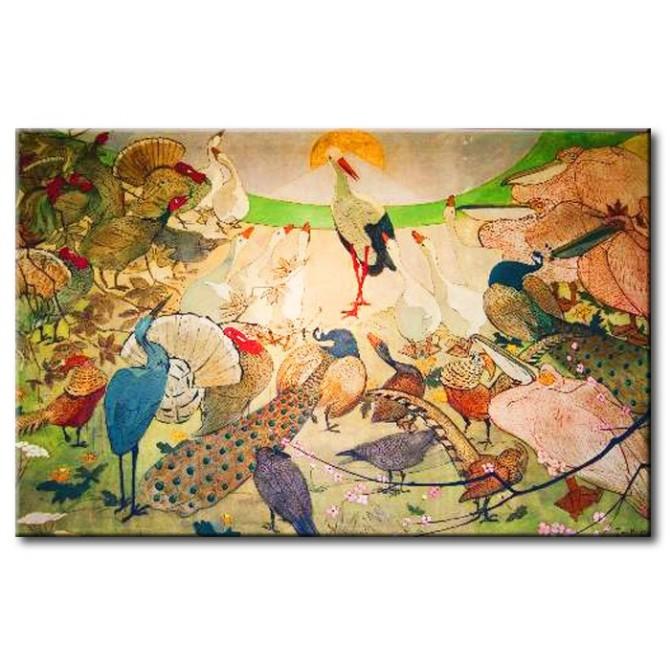 VANP2008 Cuadro Birds