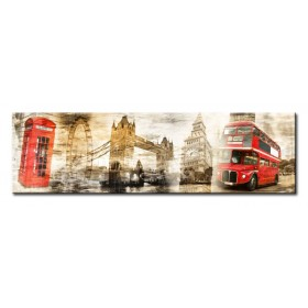 Cuadro Collage London 01 140x40