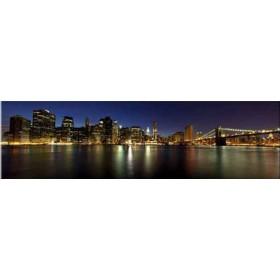 35040461 / Cuadro New York Noche 140 x 40