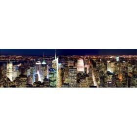 32249751 / Cuadro Manhattan por la noche 140 x 40