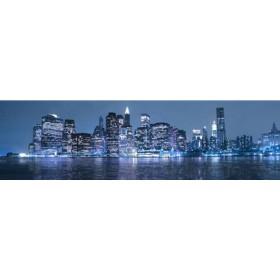26215762-A / Cuadro Nueva York azul 04 140 x 40