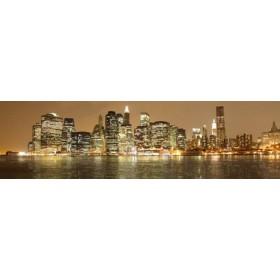 26215762 / Cuadro Nueva York noche 04 140 x 40