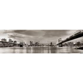 10111095-G / Cuadro Puentes de Brooklyn y Nueva York 140x40