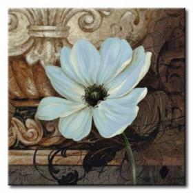 GLA-608_Artifact I / Cuadro Flores, Flor Azul